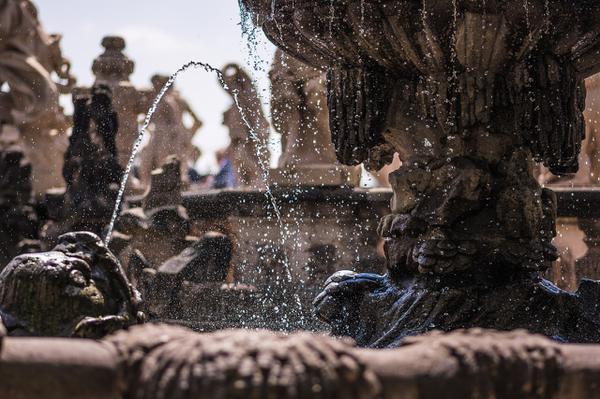 projekt fontanny ogrodowej